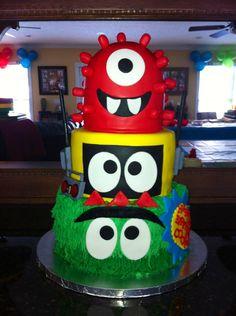 My Nephew Coopers 2nd Birthday cake!