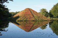 Die Seepyramide im Branitzer Park