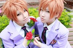 Ouran High School Host Club Cosplay Twins