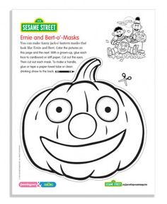 Sesame Street October Coloring Pages Parenting Toddlers, Parenting Advice, Daycare Crafts, Crafts For Kids, Diy Toys And Games, Halloween Coloring Pages, Sesame Street Birthday, Some Fun, Fun Projects