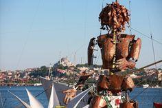 La Fura del Baus, en Estambul.