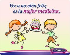 La Zarza le desea a todos los peques y a los niños que llevamos dentro un ¡Feliz Día del Niño! #Pasteles #Quotes #Puebla #Veracruz #Morelos #sabores #Xalapa #Tlaxcala #Mexico #mujer #niños #fiesta