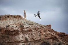 Check out the gnarly exposure and massive drop from TMac's run at Red Bull Rampage 2013.