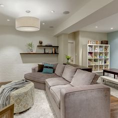 Low Basement Ceilings Design, Pictures, Remodel, Decor and Ideas CB: this is the one that feels most like our basement - i.e. fairly claustrophobic