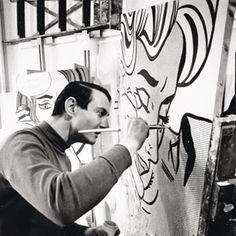 Roy Lichtenstein - Frightened Girl, 1964, oil and magna on canvas 48 x 48 inches