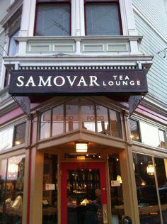 Samovar Tea Lounge in San Francisco, CA