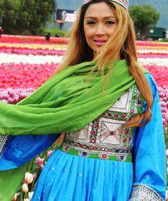 #afghani #dress #style #blue #green