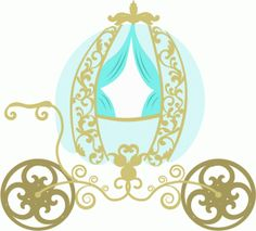 Cinderella_s carriage---------------------I think I'm in love with this shape from the Silhouette Online Store!