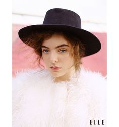 Lorde Covers ELLE's October Issue - Lorde Cover Shoot Photos - Elle