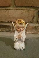 Vintage porcelain Angel Choir Japan White Robe Wings figurine ANTIQUE old