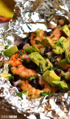 Delicious foil wrapped meals you can cook in minutes.