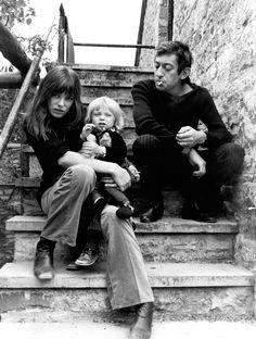 Jane, Kate et Serge Gainsbourg