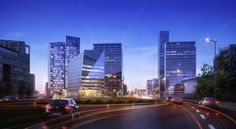 Arquitectonica Wins Competition to Design  Mixed Use Complex in Luxembourg