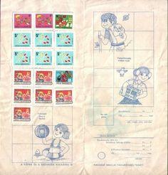 Iskolai takarékbélyeget is gyűjtöttünk, aki szorgalmas volt, év végén beválthatta, és vehetett belőle mindenféle földi jót (vagy inkább nem :-) Illustrations And Posters, Hungary, Budapest, Childhood Memories, Tarot, Nostalgia, Old Things, 1, Stamp