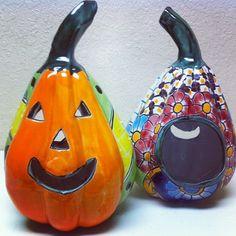 Talavera Jack-O-Lantern #oldworldpotteryofwichitafalls #jackolantern #halloween…
