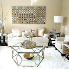 Image Result For Gold Accent Living Room