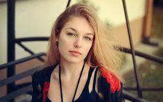 Download wallpapers Alexandra Ryglova, 4k, beauty, photomodels, blonde, beautiful girls
