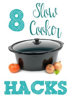 Take your slow cooking skills to the next level with these 8 Slow Cooker Hacks! #ebaystars #ad