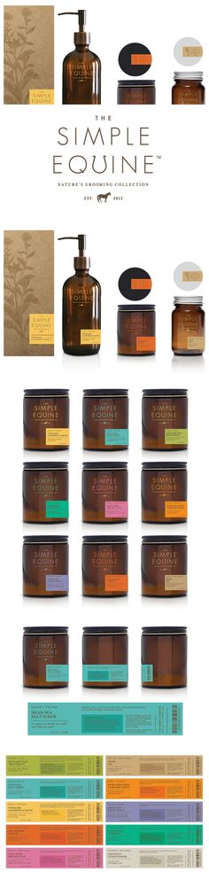 Simple Equine — The Dieline | Packaging & Branding Design & Innovation News