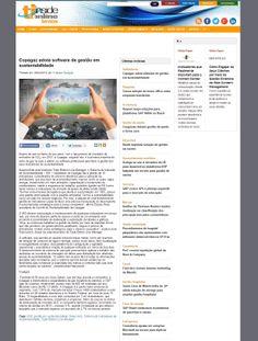 Título: Copagaz adota software de gestão em sustentabilidade. Veículo: portal TI Inside. Data: 12/04/2014. Cliente: Copagaz.