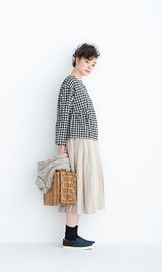 Mori Girl Fashion, Boho Fashion, Womens Fashion, Smart Casual Wear, Casual Looks, Muji Style, Asian Street Style, Natural Clothing, Layer Style