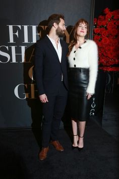 Fifty Shades of Grey New York premier