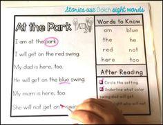 Sight Word Sentence Ladders