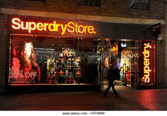 SUPERDRY store interior - Google Search