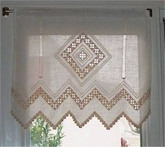 Risultati immagini per hardanger curtains