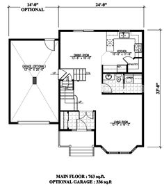 Victorian House Plan 48245 Level One