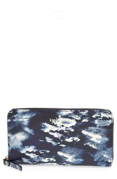 kate+spade+new+york+'cedar+street+-+clouds+lacey'+zip+wallet+available+at+#Nordstrom
