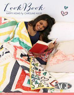Happy Home Caroline Hulse, Art Gallery Fabrics