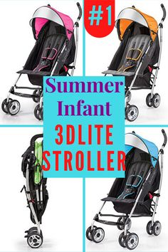 Summer Infant 3d lite stroller is a solid, stylish aluminum outline with vast seat territory and a standout amongst the most element rich accommodation stroller. It has 4 position lean back with 5 point security tackle and hostile to stun front wheels with lockable back wheels. This best lightweight stroller has adjustable and removable canopy with flip out sun visor. #affiliate #bestbabystroller #bestlightweightstroller Best Lightweight Stroller, Best Baby Strollers, Large Storage Baskets, Travel System, Summer Baby, Canopy, Outline, Infant, Wheels