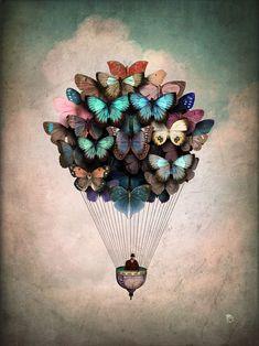 Dream On Art Print by Christian Schloe