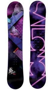 Salomon board, mostly mountain to freeride camber. Great on groomers and holds an edge...also excellent in powder