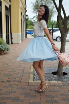 This staple-worthy tulle skirt is your secret weapon to finishing an enviable look with a feminine touch! Part of our ModCloth namesake label, this pale blue piece features layers of soft netting that gracefully gather below a silky waistband, offering sweet sophistication to every ensemble you create.