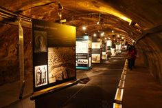 """SEWER MUSEUM - PARIS, FRANCE The Musée des Égouts (Sewer Museum) in Paris is dedicated to the capital's sewer system - fans of the novel """"Les Miserables"""" will remember a dramatic chase set in these tunnels."""