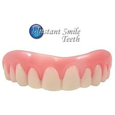 Instant Smile Teeth Upper Veneers  Medium by Billy Bob Teeth ** Learn more by visiting the image link. (It is an affiliate link and I receive commission through sales)