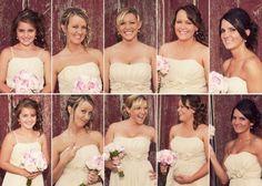 pics of each bridesmaid