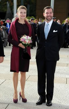 Countess Stephanie and Guillaume