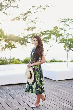HONEYMOON LOOKBOOK: TROPICAL PRINTS - STEPHANIE STERJOVSKI