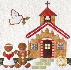 Gingerbread Village Block of the Month BOM The Quilt Company