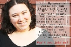 Julie Fei-Fan Balzer: You see her art everywhere - great inspiration. Classes, scrap booking, products, etc.  - Balzer Designs blog
