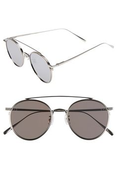 Gentle Monster  If On  52mm Metal Aviator Sunglasses Lunettes, Aviateurs b333a22976e8
