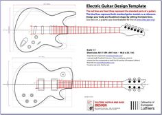 An editable blueprint of  a Les Paul and a Stratocaster will serve you as a reference of size and shape. Simply open this file with Adobe Illustrator, Corel Draw, or any other .svg editor. You can also use INKSCAPE, a free, easy-to-use graphic app, downloadable from www.inkscape.org When …