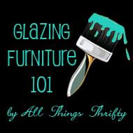 tutorial for glazing furniture I love to glaze and crackle paint furniture....