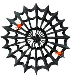 DIY Paper Spiderweb on This Heart Of Mine, Halloween Party, party, halloween, spider, spider web, crafts, diy, halloween crafts, diy spider web, paper spider web
