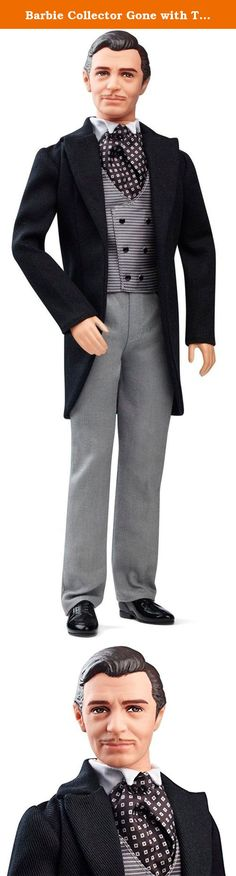 """Barbie Collector Gone with The Wind 75th Anniversary Rhett Butler Doll. Barbie Collector Gone with the Wind 75th Anniversary Rhett Butler Doll: Celebrate the 75th anniversary of Gone with the Wind, """"the most successful film in cinema history,"""" according to the Guinness Book of World Records. Dolls are sculpted to the likenesses of the characters in the film and wear iconic fashions that fans of the movie will recognize. This dashing Rhett Butler doll wears the signature suit he has on for..."""