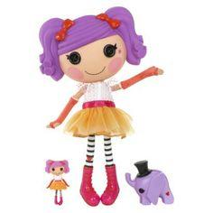 Lalaloopsy Peanut Big Top with Mini Lala Peanut Doll Bundle Pack