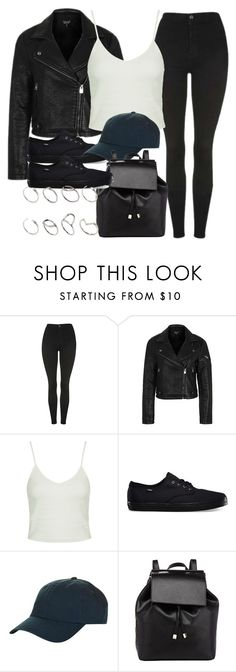 """""""Style #11324"""" by vany-alvarado ❤ liked on Polyvore featuring Topshop, Vans, Barneys New York and ASOS"""